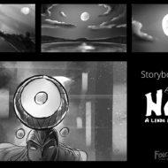 Naiá – Estudos de storyboards-2